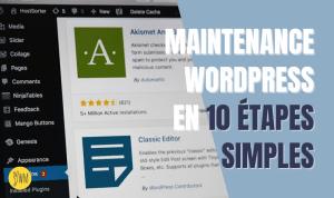 Read more about the article Checklist maintenance d'un site WordPress : 10 actions pour un entretien facile et efficace