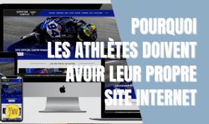 Read more about the article Pourquoi avoir un site internet quand on est pilote ou athlète ?