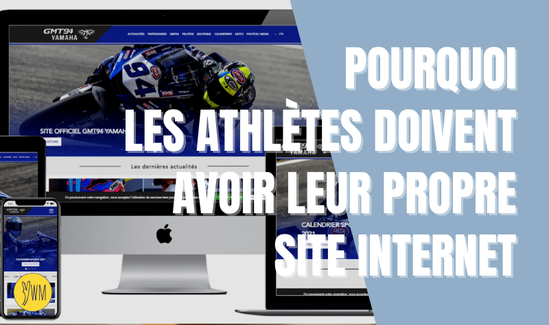 You are currently viewing Pourquoi avoir un site internet quand on est pilote ou athlète ?
