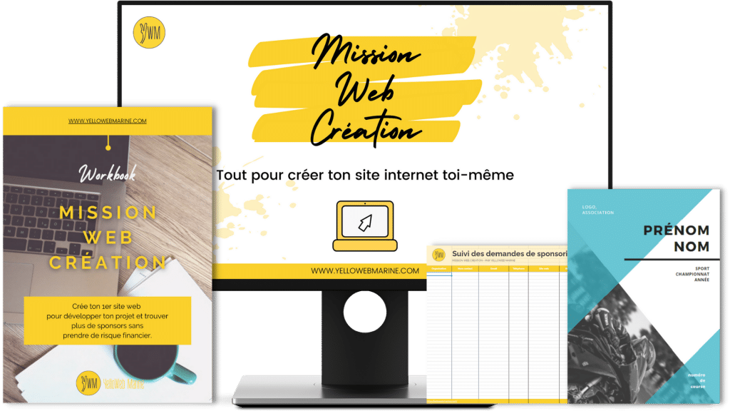 """Apprendre à créer son site internet soi-même avec """"Mission Web Création"""" !"""